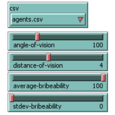 New global variables defined using sliders